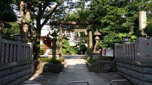 東大島神社 西参道鳥居
