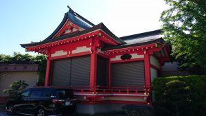 新宿日枝神社 神楽殿