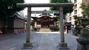 綾瀬北野神社 二の鳥居